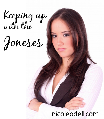 keeping up with the joneses On Being Green: Keeping up with the Joneses