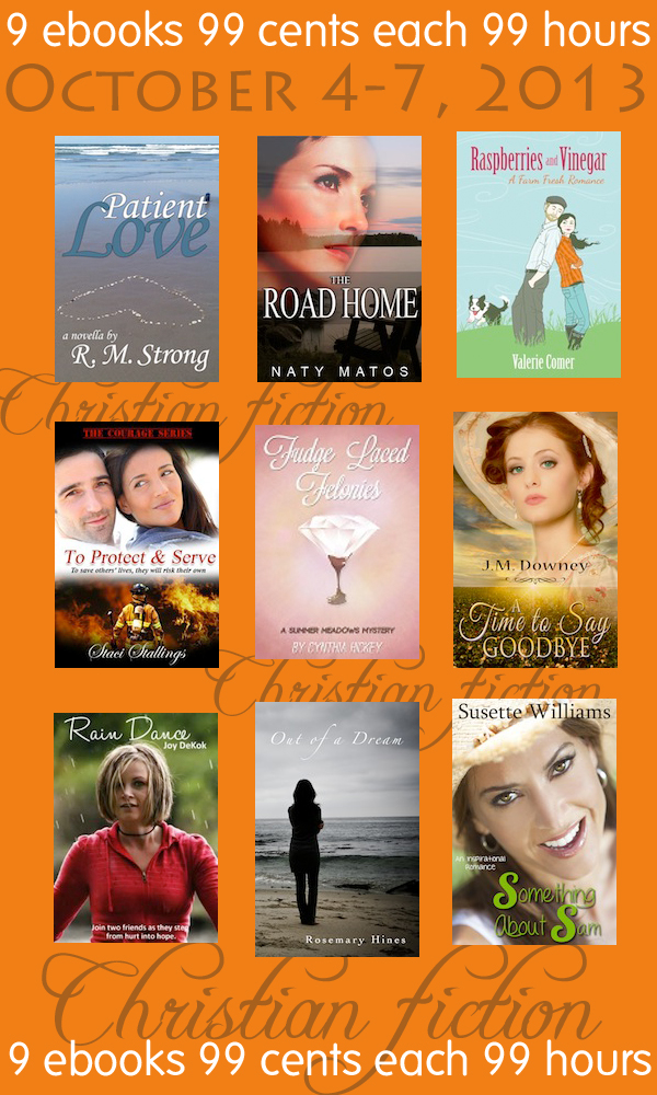 9, 99 cents, sale, Christian fiction