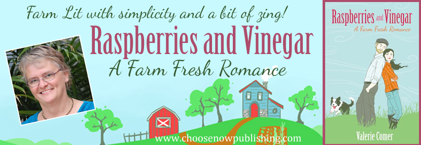 raspberries and vinegar, farm lit, farm fresh romance, valerie comer