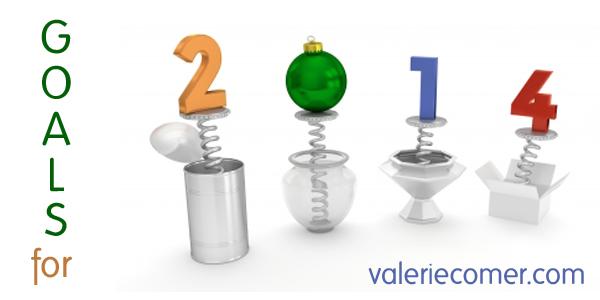 goals, 2014, valerie comer