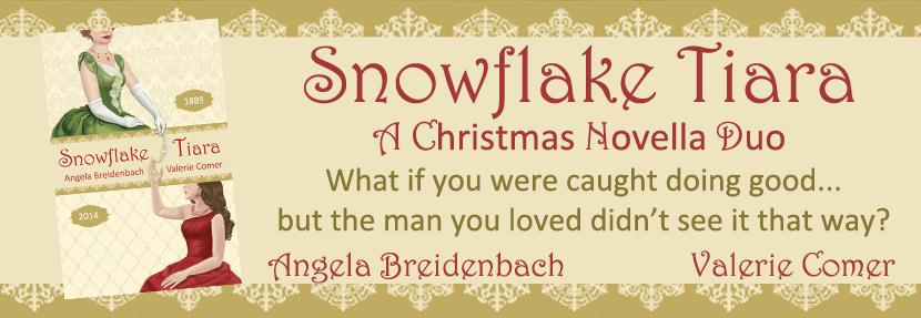 Snowflake Tiara, Angela Breidenbach, Valerie Comer