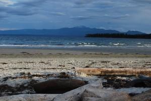 Beach at Tribune Bay, Hornby Island
