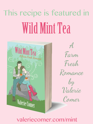 wild mint tea, farm fresh romance