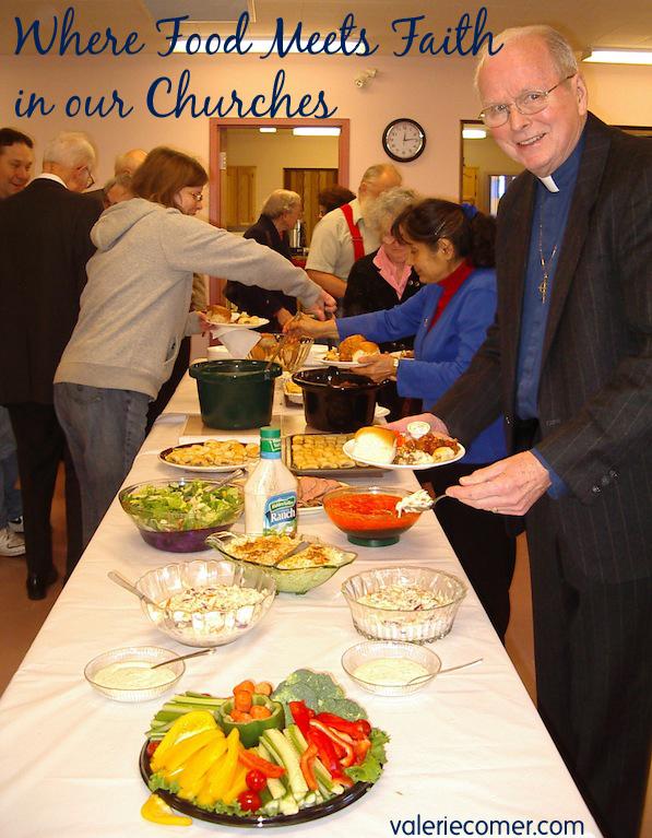 Where Food Meets Faith: in our Churches