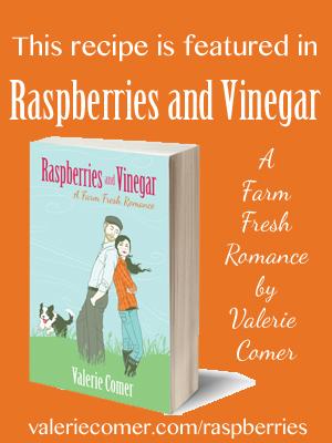raspberries and vinegar, a farm fresh romance