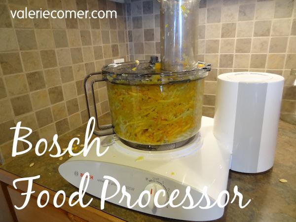 bosch, kitchen tools, food processor, summer squash, zucchini, valerie comer