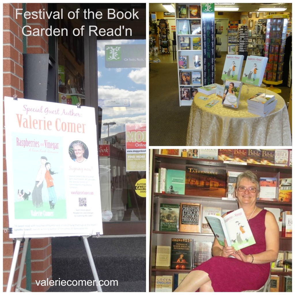 The Garden of Read'n, Missoula Montana, Valerie Comer, author event, festival of the book