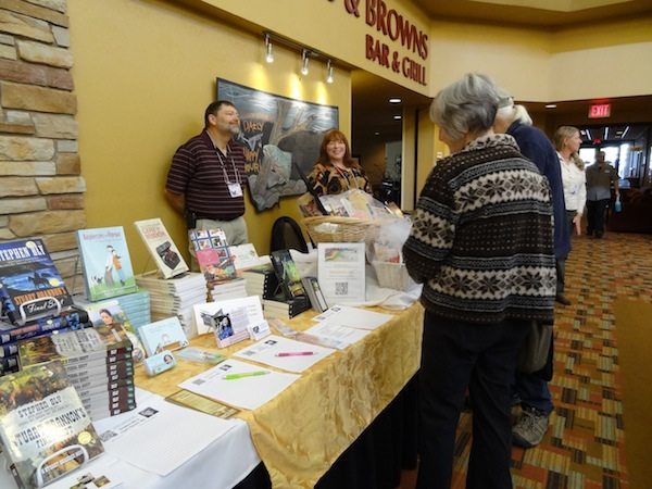 festival of the book, humanities montana, valerie comer, tracie peterson, jim peterson