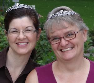 angela breidenbach, valerie comer, snowflake tiara