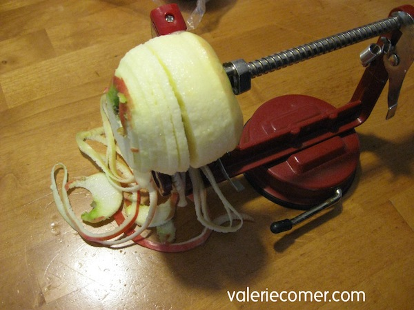 apple corer, apple peeler, apple slicer, apple turnovers, no fail pie crust, valerie comer