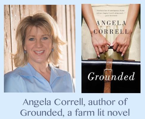 grounded, angela correll, farm lit, where food meets faith