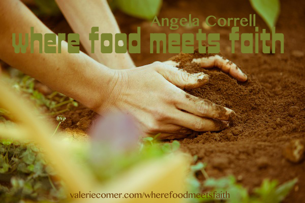 where food meets faith, angela correll, farm lit, grounded