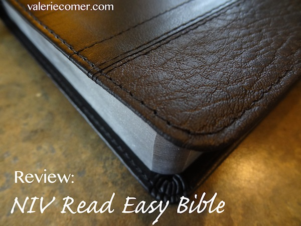 review, bible, large print, read easy bible
