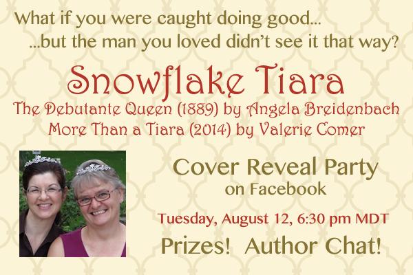 Snowflake Tiara, cover reveal party,