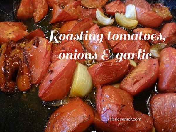roasted tomato pasta sauce, recipe, canning