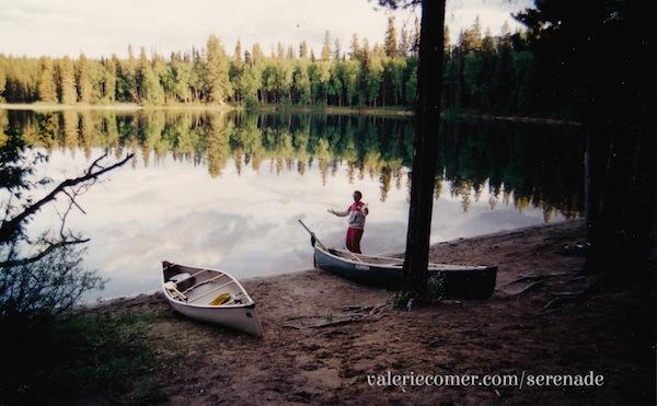 Unna Lake, Bowron Lakes