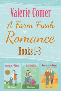 Farm Fresh Romance, Valerie Comer, Raspberries and Vinegar, Wild Mint Tea, Sweetened with Honey, box set, kindle, kobo, nook, iBooks