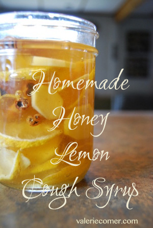 honey lemon cough syrup, DIY cough syrup, homemade cough syrup