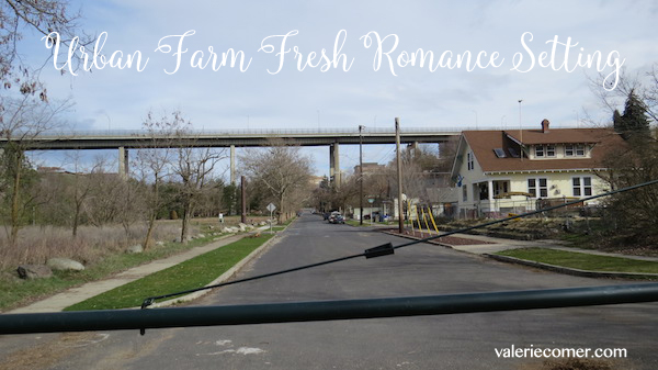 Urban Farm Fresh Romance setting