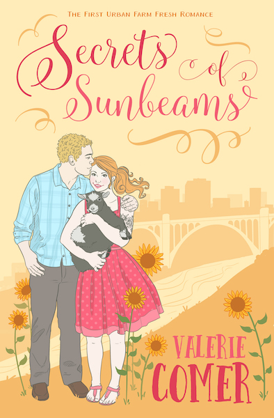 The cover of Secrets of Sunbeams, the first Urban Farm Fresh Romance by Valerie Comer