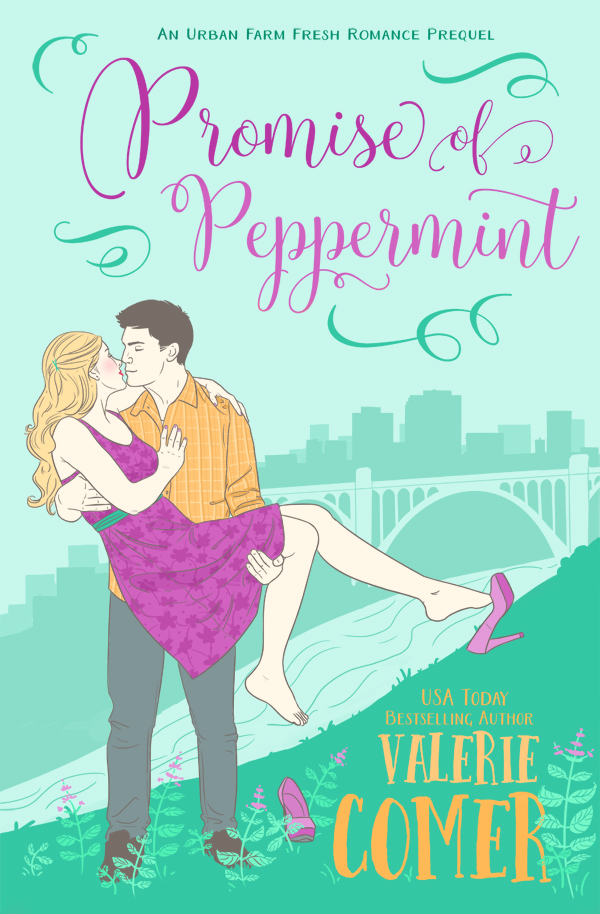 Promise of Peppermint <br>by Valerie Comer