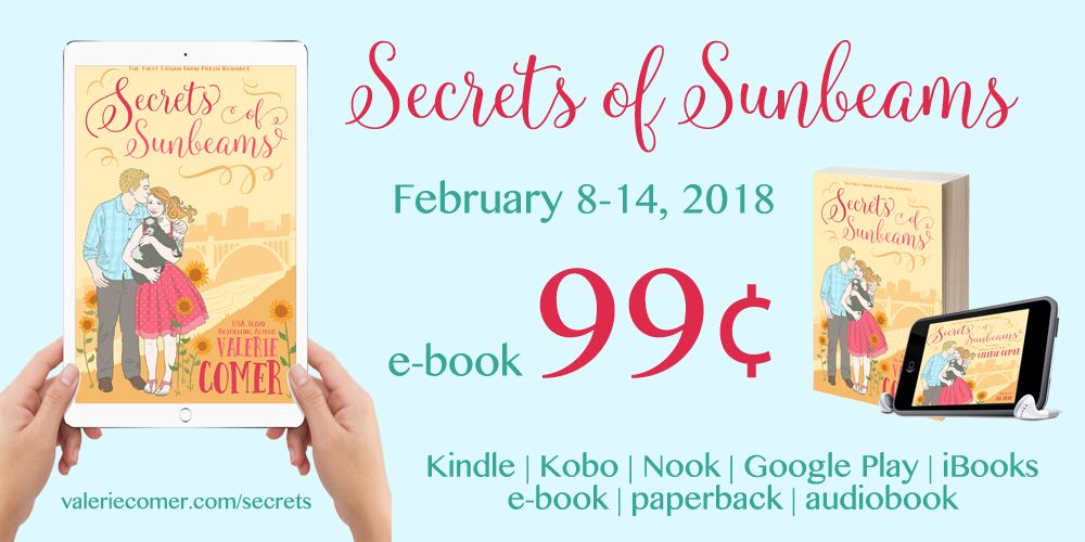secrets of sunbeams is on sale, secrets of sunbeams, 99cent sale