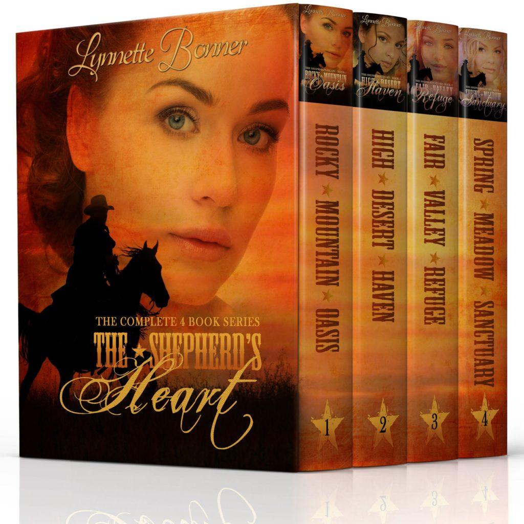 The Shepherd's Heart 1-4 by Lynnette Bonner