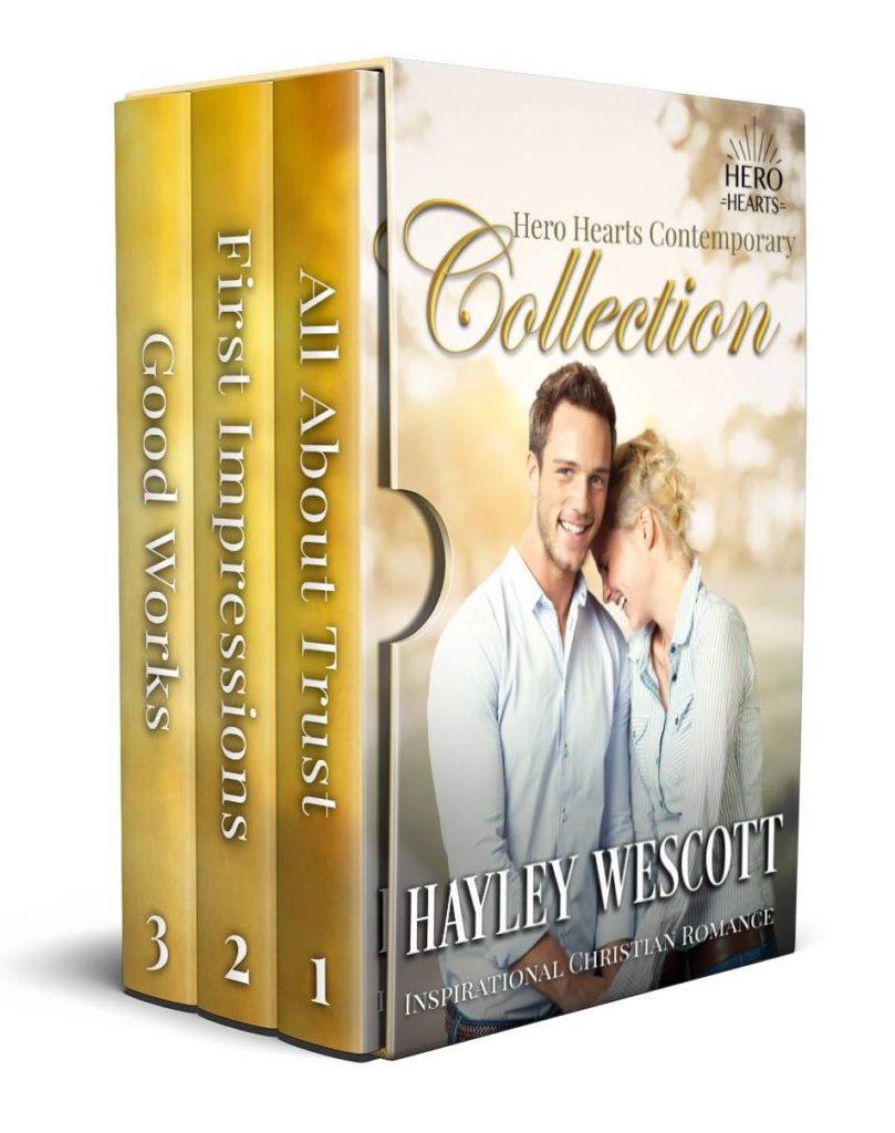 Contemporary Hero Hearts Series 1-3 by Hayley Wescott