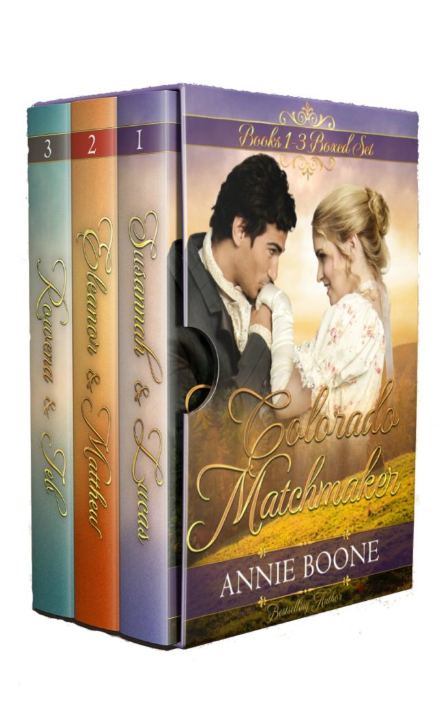 The Colorado Matchmaker Series 1-3 by Annie Boone