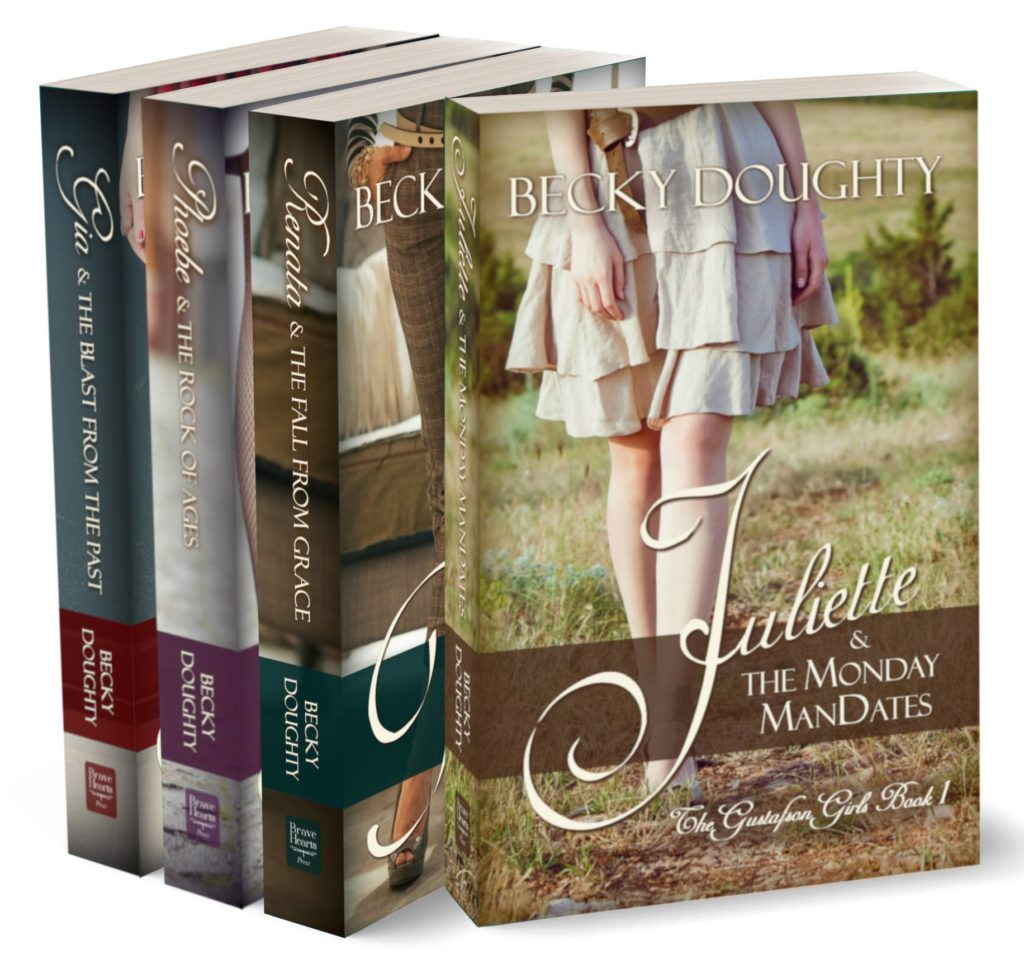 The Gustafson Girls Complete Series 1-4 by Becky Doughty