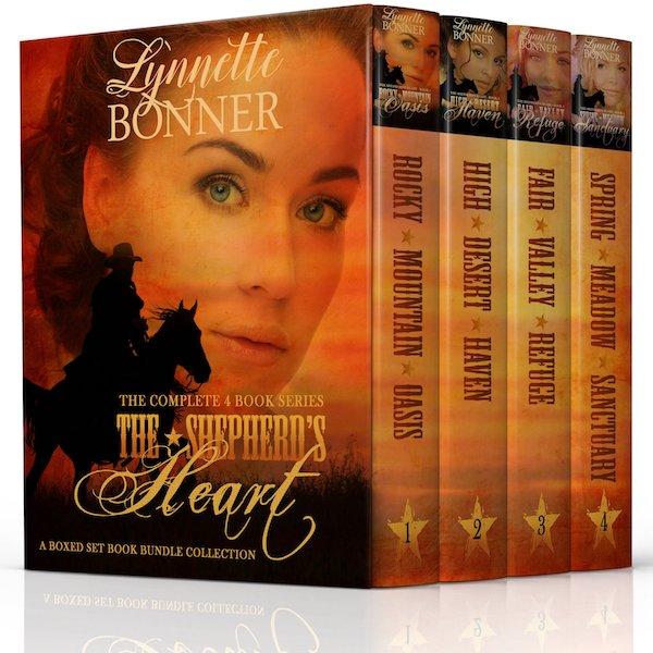 The Shepherd's Heart Series 1-4<br>by Lynnette Bonner