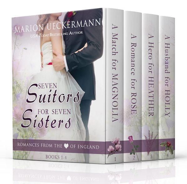 Seven Suitors for Seven Sisters: Books 1-4<br>by Marion Ueckermann