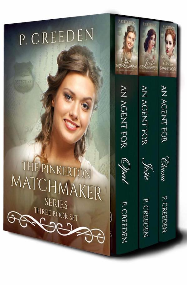 The Pinkerton Matchmaker Set (1-3)<br>by P. Creeden