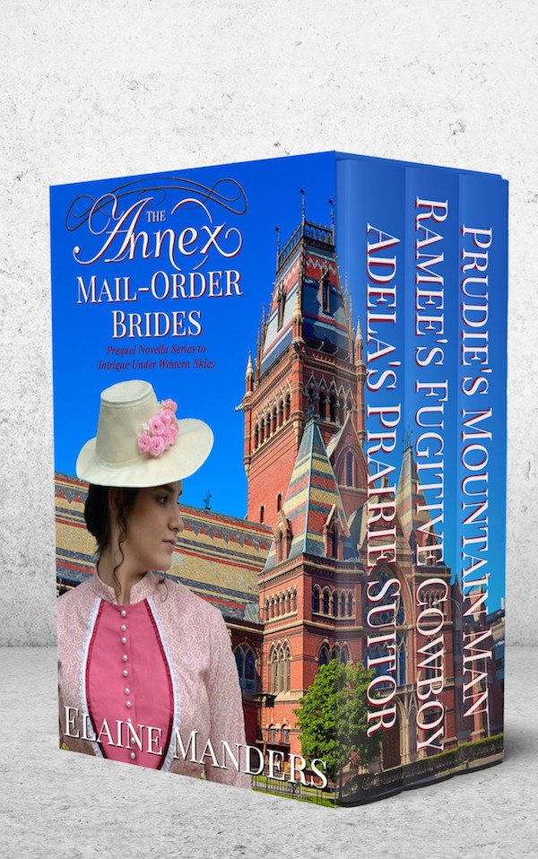 The Annex Mail-Order Brides 1-3<br>by Elaine Manders