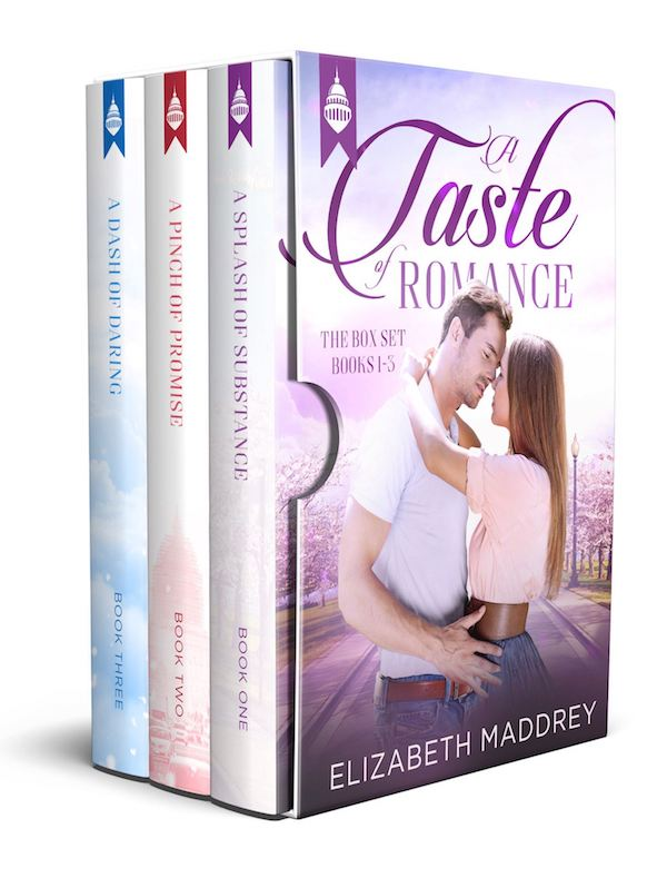 A Taste of Romance Box Set (Books 1-3)<br>by Elizabeth Maddrey