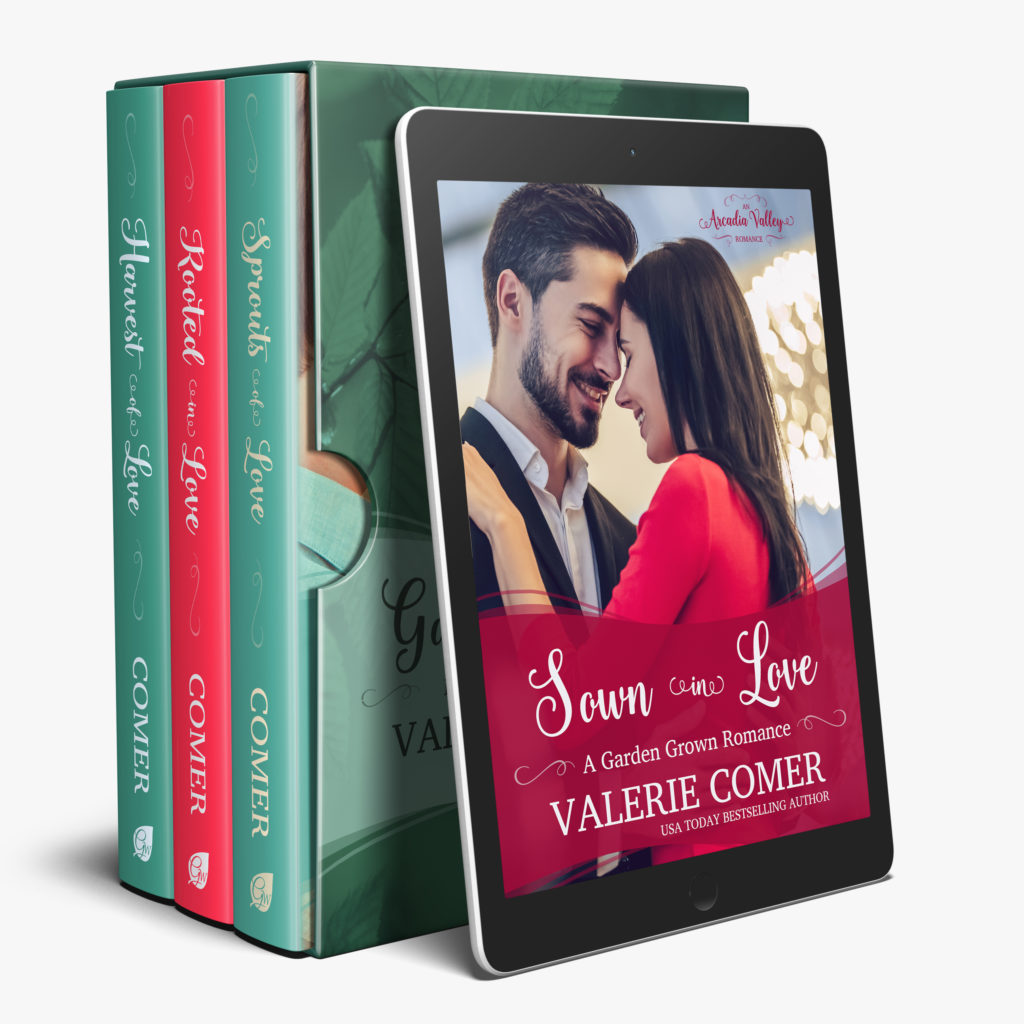 Garden Grown Romance 1-4<br>by Valerie Comer