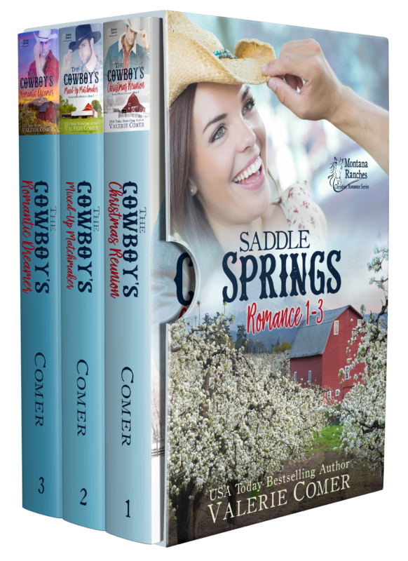 Montana Ranches Christian Romance Box 1
