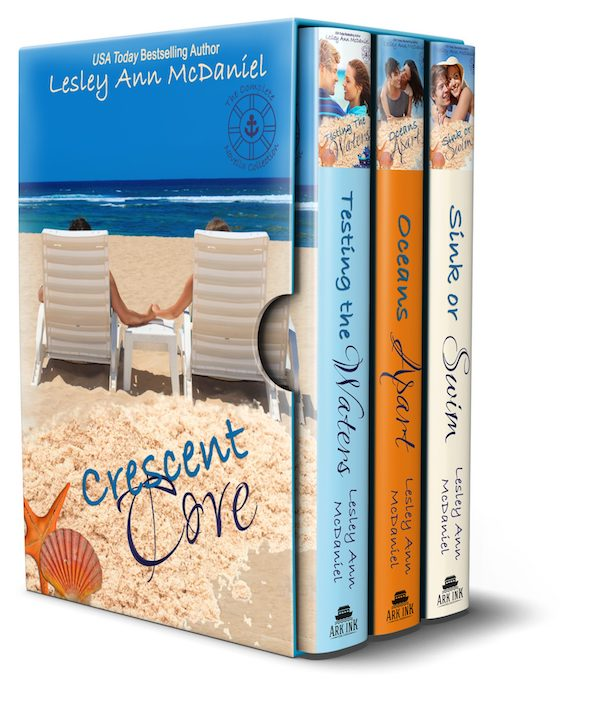 Crescent Cove<br> by Lesley Ann McDaniel