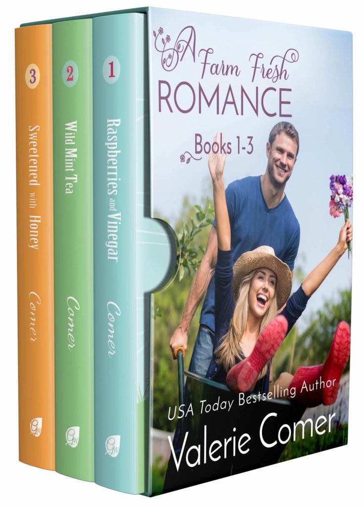 Farm Fresh Romance 1-3<br>by Valerie Comer