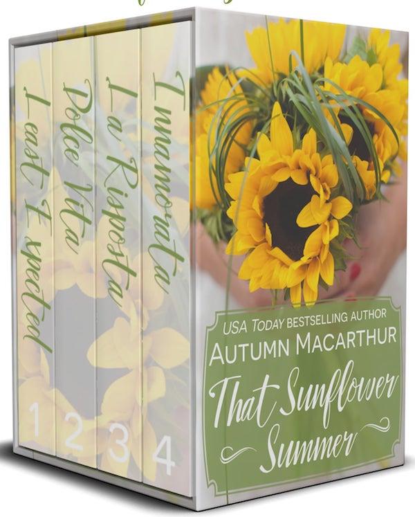 That Sunflower Summer <br>by Autumn Macarthur