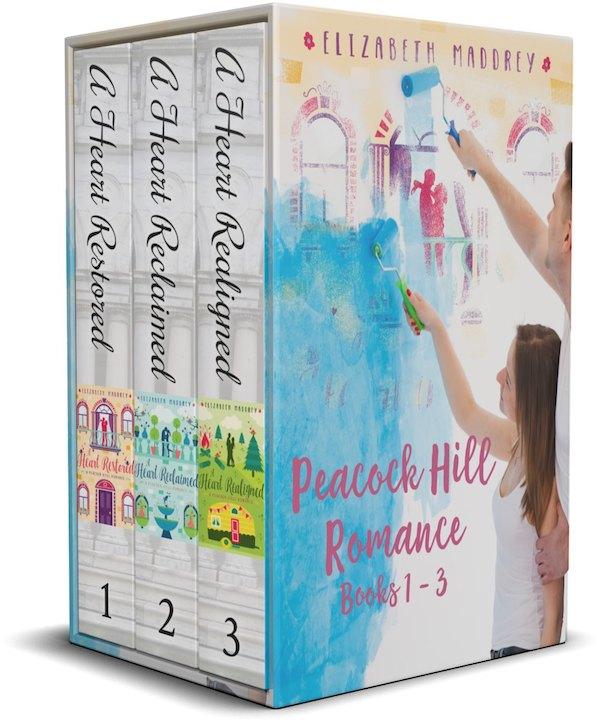 Peacock Hill Romance Books 1-3 <br>by Elizabeth Maddrey